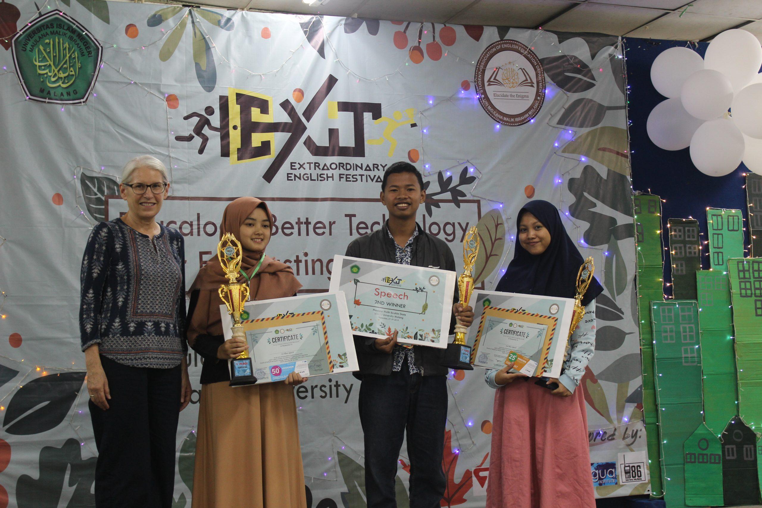 EXIT (Extraordinary English Festival) 2019
